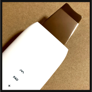 ꒰未使用꒱温熱ケア イオン導入 美肌ケア 美顔器ウォーターピーリング 美容器具 (その他)