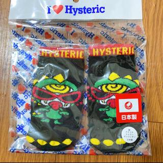 HYSTERIC MINI - 12. 新品 ミニラ ソックス 13-14 クロ