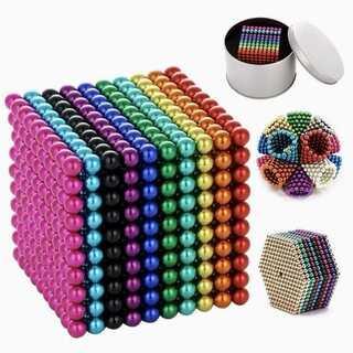 マグネットボール  磁石 知育玩具 創作 立体パズル 5mm 1000個(その他)