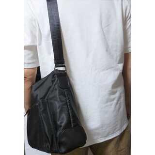 メンズ ナイロンバッグ メッセンジャーバッグ 防水 撥水 ビジネスバッグ(メッセンジャーバッグ)