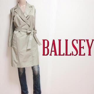 Ballsey - 極美シルエット♪ボールジィ 光沢 スタイルトレンチコート♡アニエスベーマカフィー