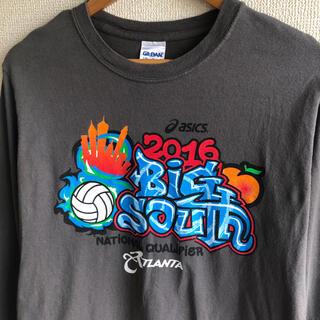 ギルタン(GILDAN)のギルダン ビッグサウス バレーボール プリント ロンT(Tシャツ/カットソー(七分/長袖))