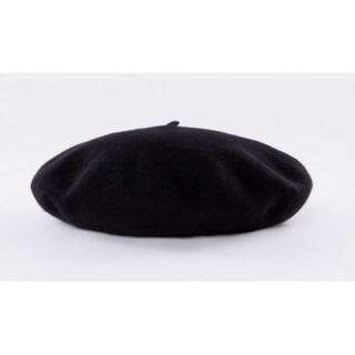 ベレー帽 黒色(ハンチング/ベレー帽)