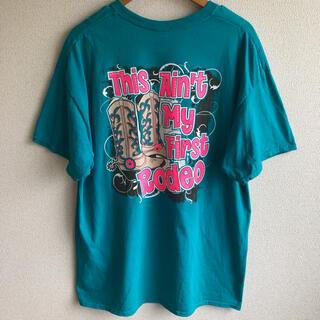 ギルタン(GILDAN)のギルダン ロデオ プリント Tシャツ GILDAN(Tシャツ/カットソー(半袖/袖なし))