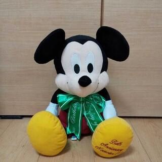 ディズニー(Disney)のミッキーマウス ぬいぐるみ おすわり BIG ディズニー(ぬいぐるみ)