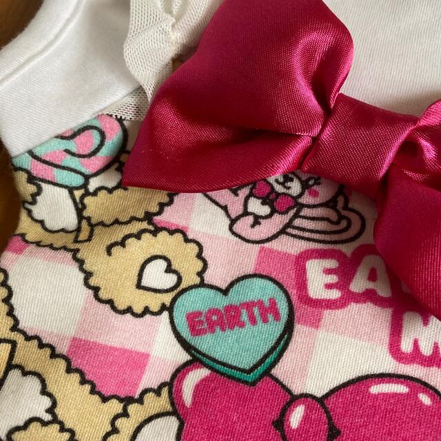EARTHMAGIC(アースマジック)の専用 15日以降クーポン待ち   セット キッズ/ベビー/マタニティのキッズ服女の子用(90cm~)(Tシャツ/カットソー)の商品写真