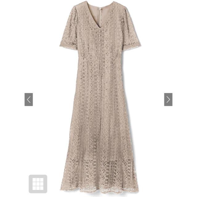 GRL(グレイル)のグレイル Vネックレースワンピース 白石麻衣 レディースのワンピース(ひざ丈ワンピース)の商品写真