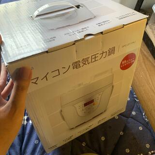 シロカ マイコン電気圧力鍋(調理機器)