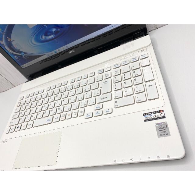 NEC(エヌイーシー)の最高性能 NEC ノートPC Core i7 SSD512GB メモリ16GB スマホ/家電/カメラのPC/タブレット(ノートPC)の商品写真