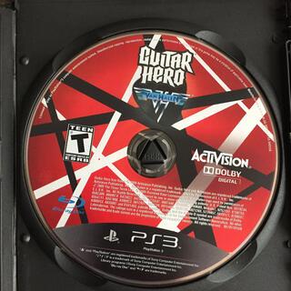 プレイステーション3(PlayStation3)の【送料込】PS3 Guitar Hero Van Halen 中古(家庭用ゲームソフト)