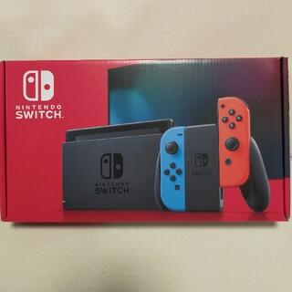 switch 本体 新品 ニンテンドー スイッチ(家庭用ゲーム機本体)