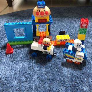 アンパンマン(アンパンマン)のアンパンマンとパトカーブロックのセット(積み木/ブロック)