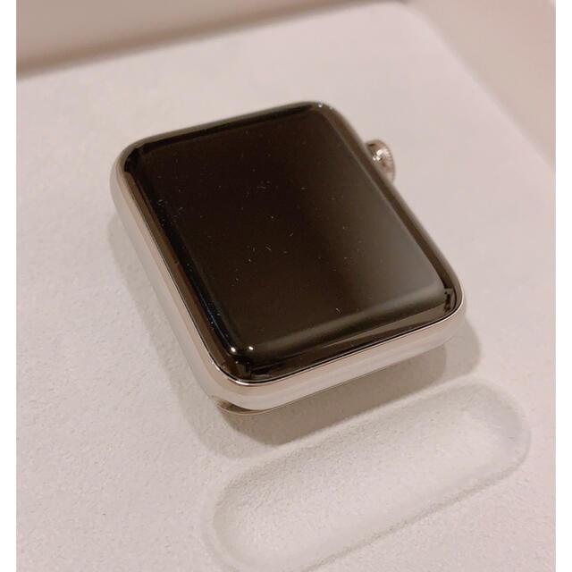 Apple Watch(アップルウォッチ)のApple Watch series2 42mm ステンレス ベルト付き メンズの時計(その他)の商品写真