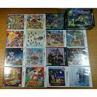 ニンテンドー3DS(ニンテンドー3DS)の任天堂 Nintendo3DS 用ゲームソフト15本セット USED 送料込(携帯用ゲームソフト)