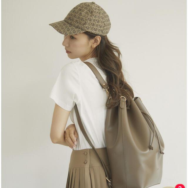TODAYFUL(トゥデイフル)のrandeboo / RB bucket backpack(graige) レディースのバッグ(リュック/バックパック)の商品写真