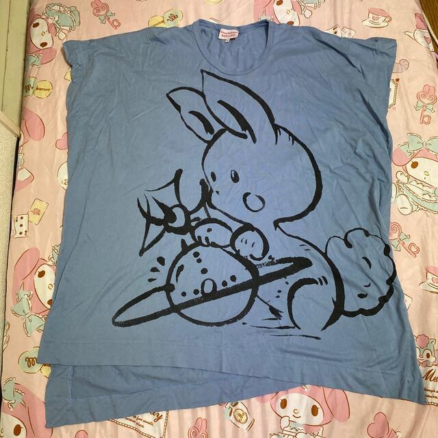 Vivienne Westwood(ヴィヴィアンウエストウッド)のヴィヴィアンウエストウッド うさぎ トップス レディースのトップス(Tシャツ(半袖/袖なし))の商品写真