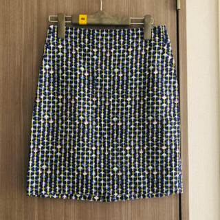 ニジュウサンク(23区)の23区 ドットタイトスカート(ひざ丈スカート)