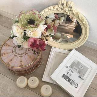サボン(SABON)の結婚式ウェルカムスペース❤️鏡✨写真立て✨キャンドル✨フラワーブーケ✨sabon(ウェルカムボード)