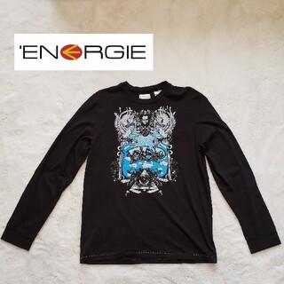 エナジー(ENERGIE)のENERGIE ロンT クルーネック エナジー Tシャツ メンズ 長袖(Tシャツ/カットソー(七分/長袖))