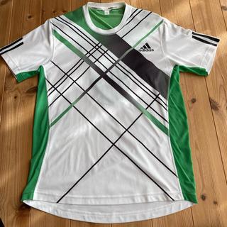 アディダス(adidas)のアディダス adidas テニスゲームシャツ 錦織圭着用モデル(ウェア)