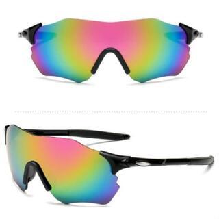 サイクリング メガネ UV400 紫外線カット 超軽量 耐衝撃 サングラス黒