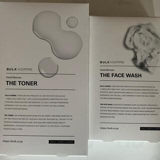 バルクオム 洗顔料、化粧水セット 新品(洗顔料)