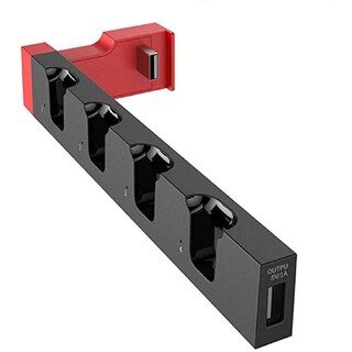 ジョイコン 充電スタンド Switch スイッチ 4本同時充電 充電器