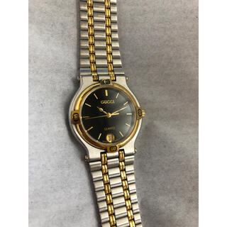グッチ(Gucci)の【動作未確認】GUCCI グッチ 9000M 腕時計 ウォッチ quartz(腕時計(アナログ))