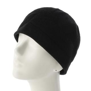 ユナイテッドアローズ(UNITED ARROWS)の新品 ユナイテッドアローズ ニットキャップ 黒(ニット帽/ビーニー)