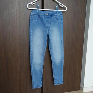 ジーユー(GU)のGU デニムパンツ キッズ 110cm(パンツ/スパッツ)