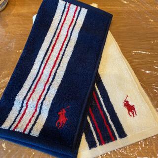 ポロラルフローレン(POLO RALPH LAUREN)のラルフローレン タオルハンカチ 2枚(ハンカチ/ポケットチーフ)
