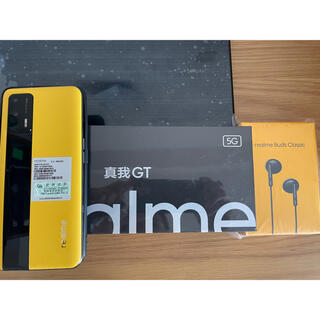ANDROID - realme GT 5G ch版 12GB/256GB  レザーイエロー