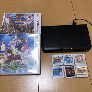 ニンテンドー3DS(ニンテンドー3DS)のニンテンドー3DSLL+3DSソフト6本(携帯用ゲーム機本体)