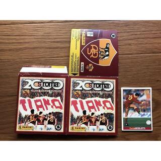 サッカー as roma ローマ PANINI プログラム トレーディングカード(記念品/関連グッズ)