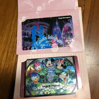 ディズニー(Disney)の東京ディズニーランド テレカ 2枚セット テレホンカード(その他)