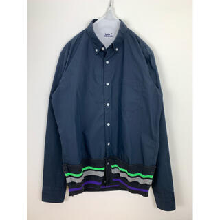 kolor - 16ss kolor BEACON メリルコットンタイプライターシャツ