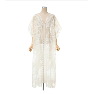 mame - 【21SS】Mame Kurogouchi Curtain Lace Dress