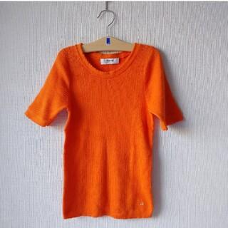 ボンポワン(Bonpoint)のボンポワン bonpoint 半袖ニット 140(Tシャツ/カットソー)