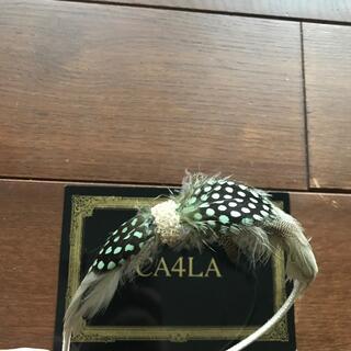 カシラ(CA4LA)の【CA4LA カシラ】カチューシャ ヘアアクセサリー パーティー 結婚式(カチューシャ)