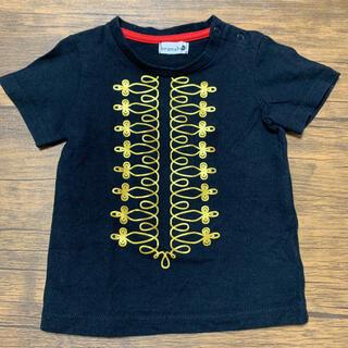ブランシェス ナポレオンプリント半袖Tシャツ 90