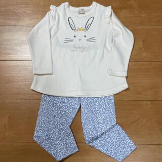 petit main - 未使用✳プティマイン☆長袖Tシャツ&レギパンセット