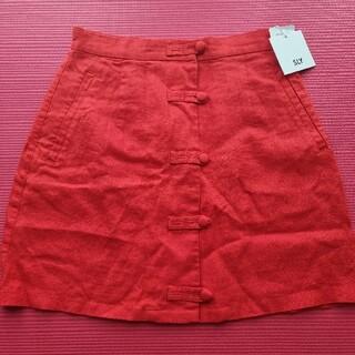 スライ(SLY)のSLY ミニスカート 赤 レッド size1(ミニスカート)