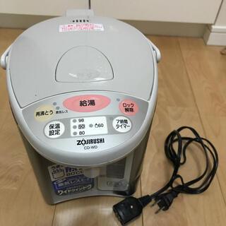 ゾウジルシ(象印)のZOJIRUSHI CD-WD22-CL ポット(電気ポット)