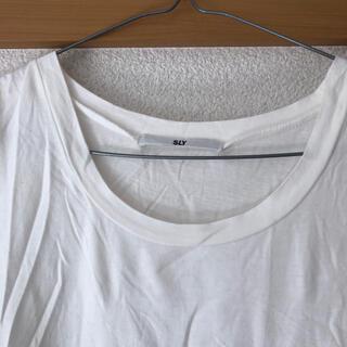 スライ(SLY)のスライ 半袖シャツ ティーシャツ(Tシャツ(半袖/袖なし))