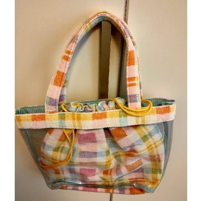FEILER(フェイラー)の新品 FEILER ビニール 巾着バッグ レディースのバッグ(トートバッグ)の商品写真