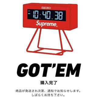 シュプリーム(Supreme)のSupreme / Seiko Marathon Clock(その他)