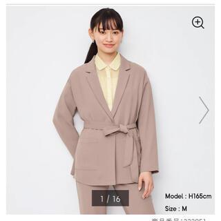 ジーユー(GU)のgu オーバーサイズシャツジャケット セットアップ (セット/コーデ)