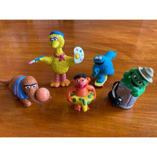 セサミストリート(SESAME STREET)のセサミストリート フィギュア 5点セット 人形 クッキーモンスター ビッグバード(キャラクターグッズ)