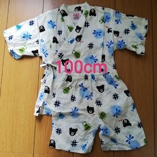 ダブルビー(DOUBLE.B)のミキハウス 甚平 100cm(甚平/浴衣)