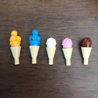 レゴ(Lego)の新品✨LEGO レゴ 正規品 アイス コーン5本セット②(知育玩具)